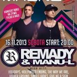 Magnes Club Wtórek – Remady & Manu-L