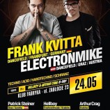 Electronic Festival FRANK KVITTA ELECTRONMIKE Hellboy B-day