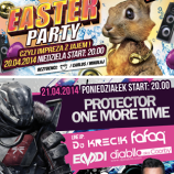 Magnes Club Wtórek – EASTER PARTY & PROTECTOR ONE MORE TIME