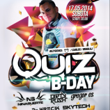 Magnes Club Wtórek – QUIZ B-DAY