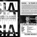MegaClub Katowice – Siasia – 18 Years On Stage' with PETDuo