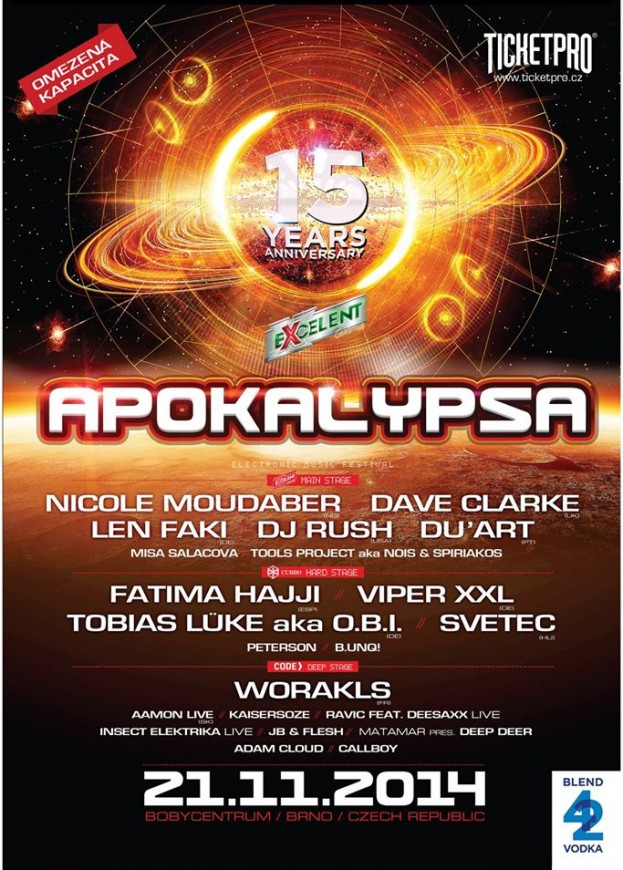 Apokalypsa – 15-lecie