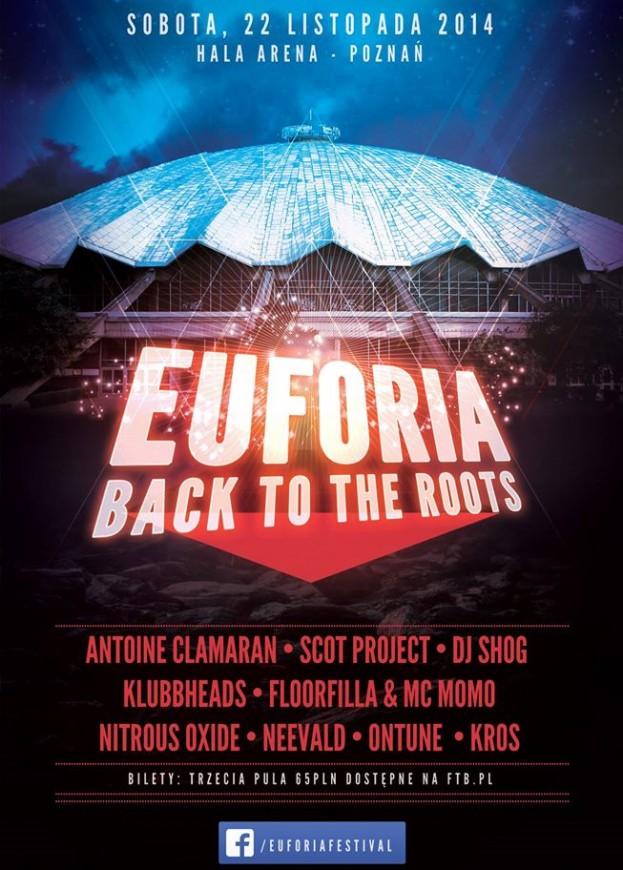 EUFORIA Back To The Roots 3 – time table oraz informacje organizacyjne