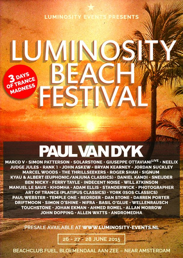 Luminosity Beach Festival 2015