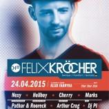 Fabryka Kraków – Electronic Festival 5th Anniversary FELIX KRÖCHER