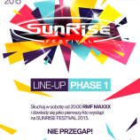 Pierwsza faza line – up Sunrise Festival 2015