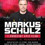 KONKURS – Wygraj bilet na I urodziny EPIC Club z Markusem Schulzem