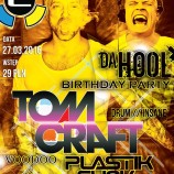 Ekwador Manieczki – DA HOOL BIRTHDAY PARTY with TOMCRAFT & FRIENDS