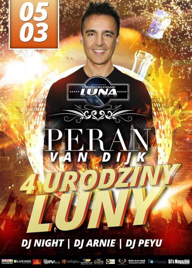 Luna Loosbroek – 4 urodziny – Peran Van Dijk