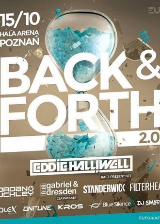 Euforia Festival pres. Back & Forth 2016