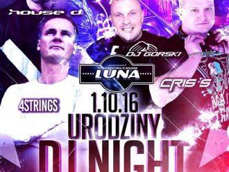 Luna Loosbroek – urodziny DJ Night'a
