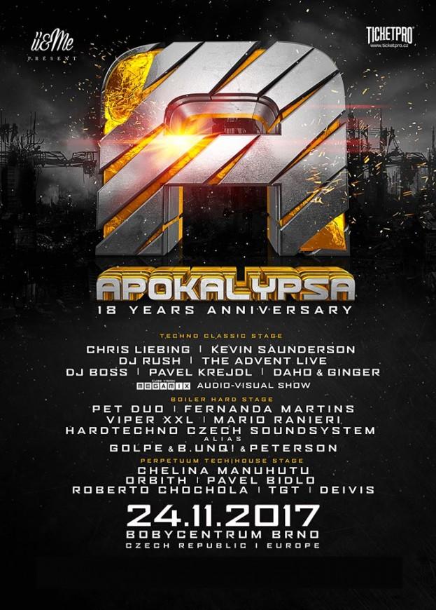 Apokalypsa 18 Years Anniversary
