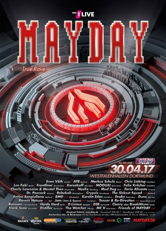 "Mayday 2017 ""True Rave"" GER"
