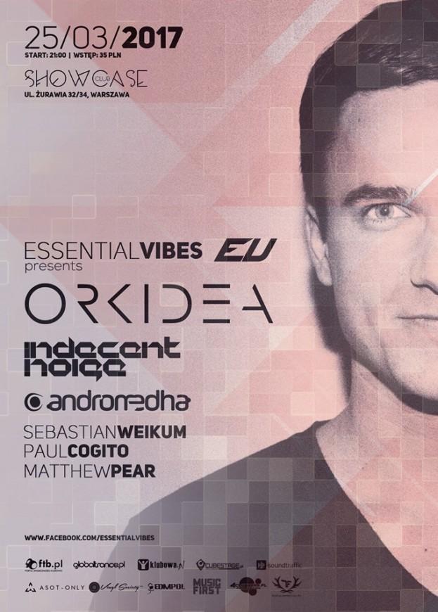 Essential Vibes pres. Orkidea – Showcase Club, Warszawa