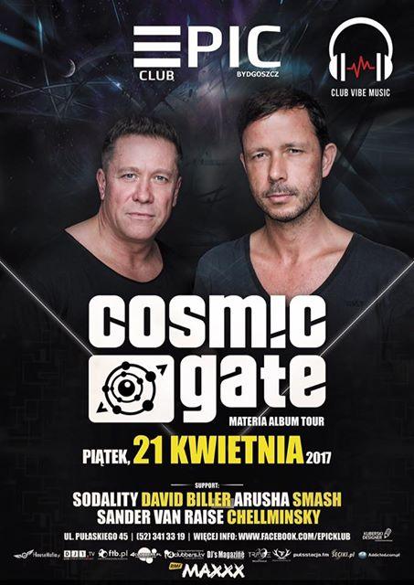 Epic Club Bydgoszcz – Cosmic Gate Materia Album Tour