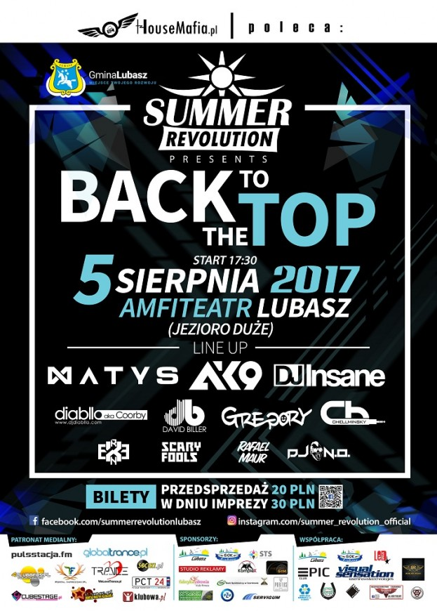 "Summer Revolution ""Back To The Top"""