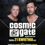 Wygraj bilet na Cosmic Gate w Epic Club!