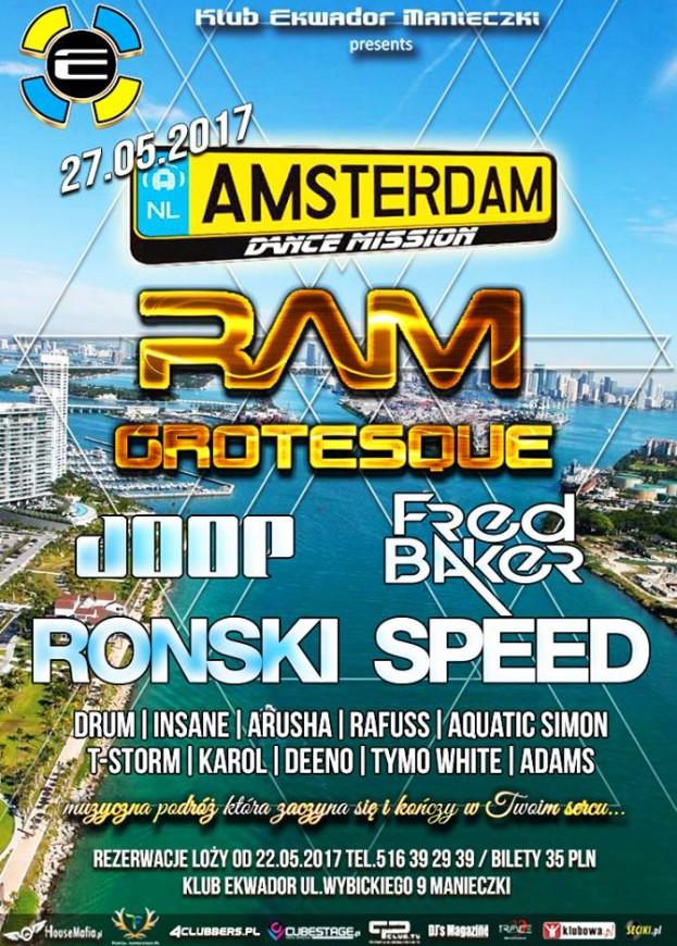 Wygraj bilet na Amsterdam Dance Mission 2017
