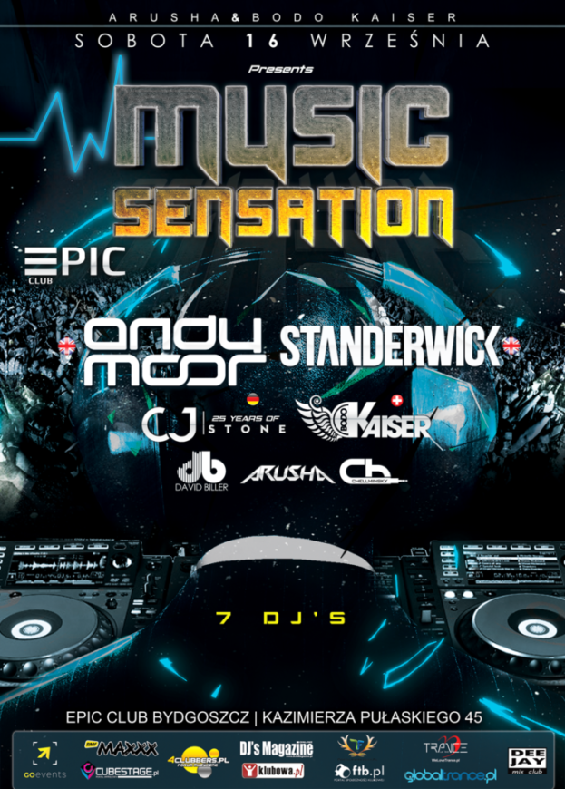Wygraj bilet na Music Sensation EPIC CLUB