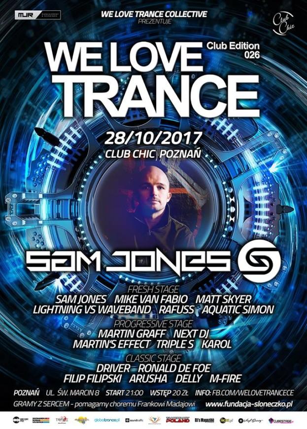 Chic Poznań–We Love Trance CE 026 Sam Jones
