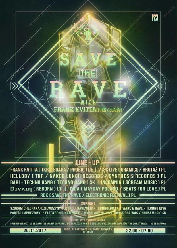 P23 Katowice – Save The Rave with Frank Kvitta