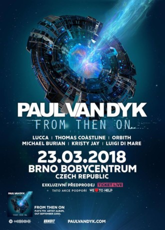 Bobycentrum Brno –Paul Van Dyk – From The On