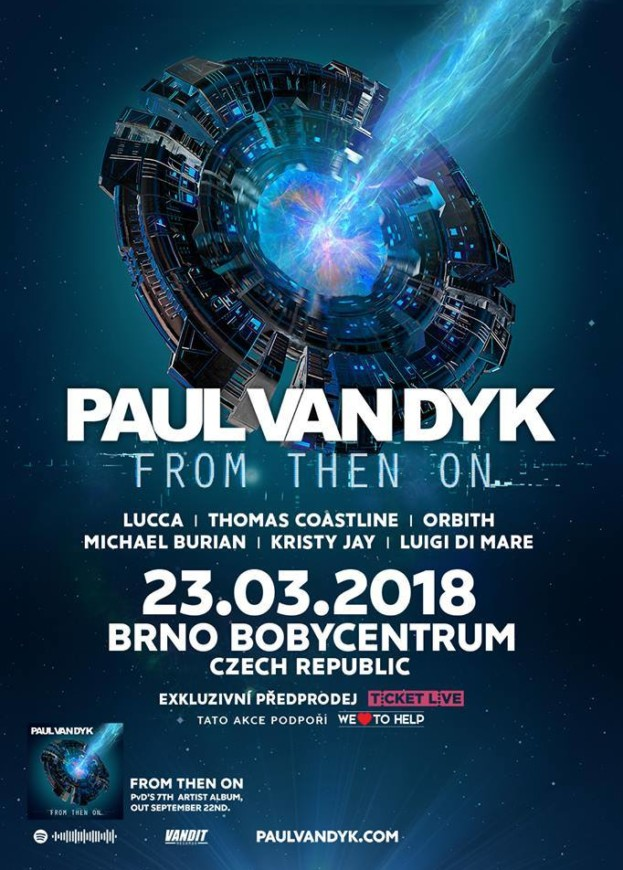 Bobycentrum Brno – Paul Van Dyk – From The On