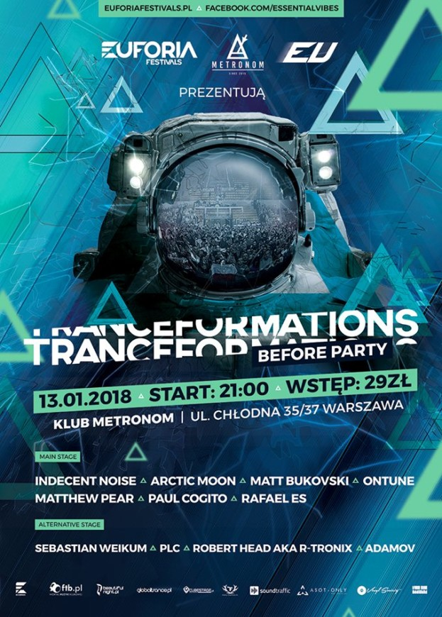 Essential Vibes pres. Tranceformations 2018 Before Party