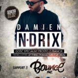 Wygraj bilet na występ Damiena N-Drix'a w Magnes Club