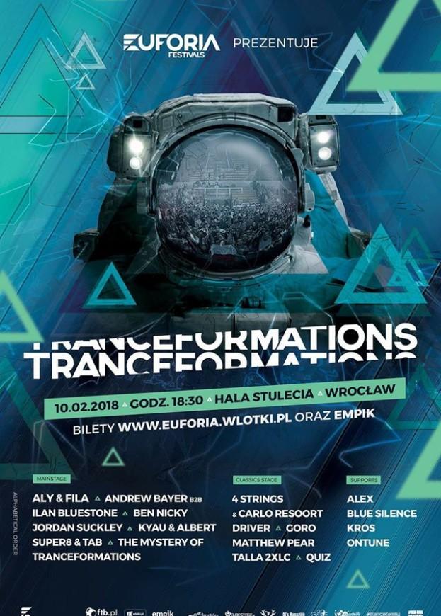 Wygraj bilet na Tranceformations 2018