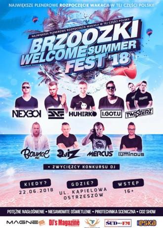 Brzoozki Welcome Summer FEST 18