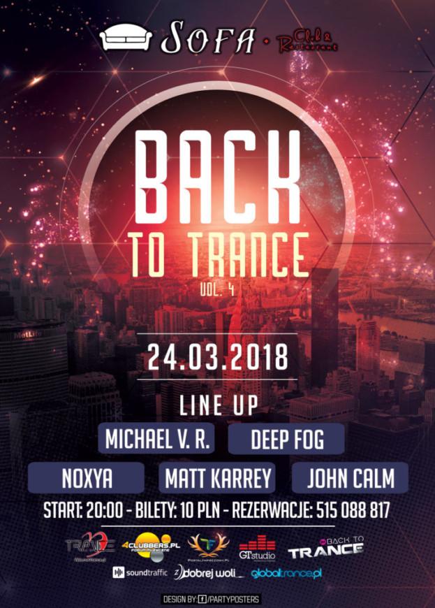 Sofa Club & Restaurant – Back To Trance vol. 4