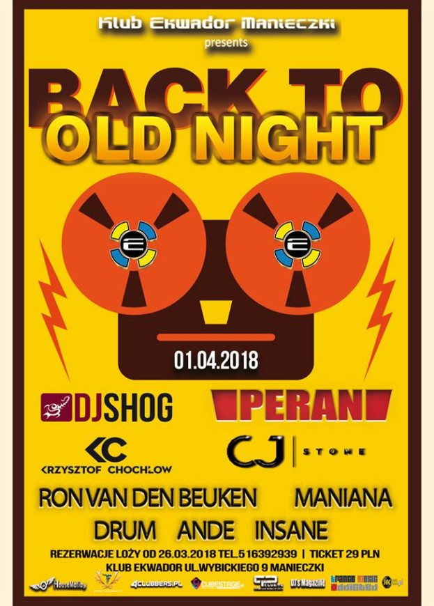 Ekwador Manieczki – Back To Old Night