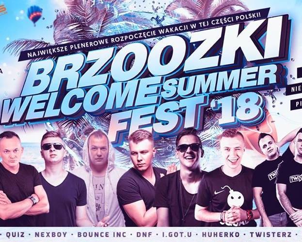 Wygraj bilet na Brzoozki Welcome Summer FEST 2018