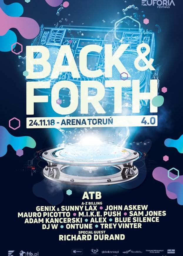 Euforia Festival pres. Back & Forth 4.0
