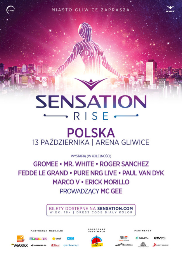 Wygraj bilet na Sensation Poland 2018