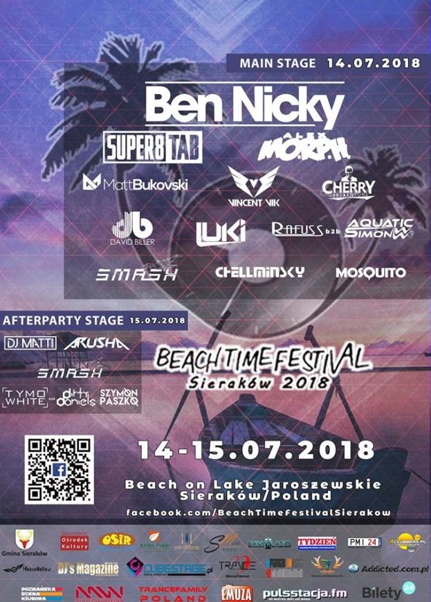 Wygraj bilet na Beach Time Festival