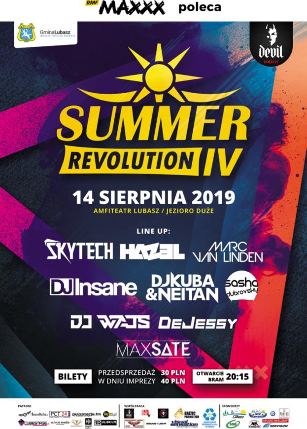 Wygraj bilet na Summer Revolution IV