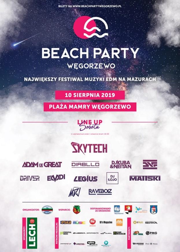 Beach Party Węgorzewo 2019