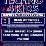 Beka w Piwnicy Katowice – Techno 4 Kids Impreza Charytatywna