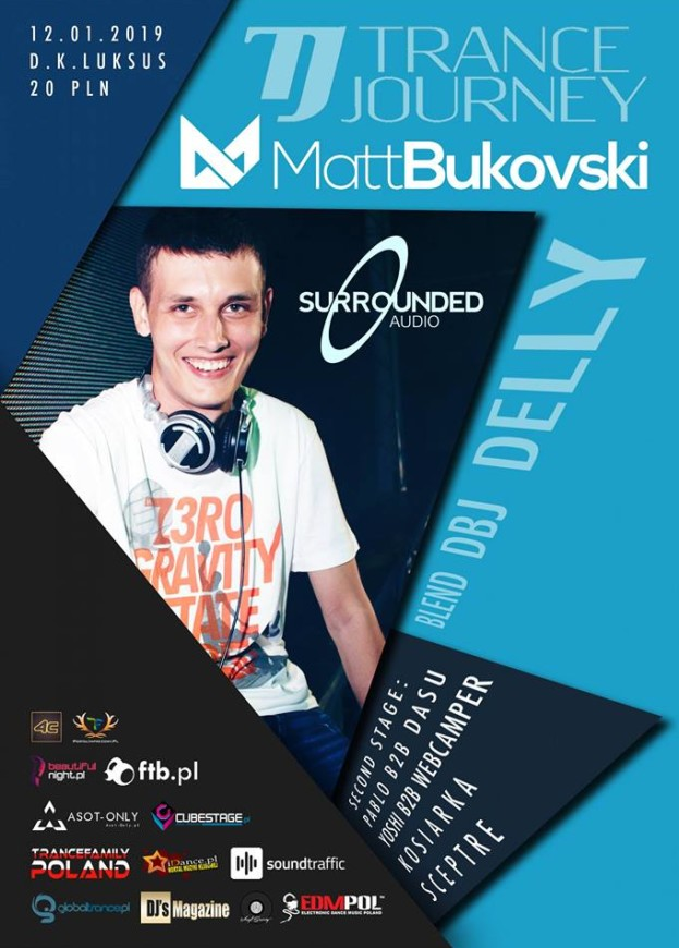 D.K. Luksus Wrocław – Trance Journey pres. Winter Edition with Matt Bukovski