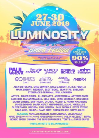 Luminosity Beach Festival 2019