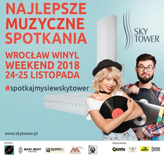 Wrocław Winyl Weekend po raz trzeci w Sky Tower 24-25 listopada