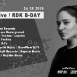 INQbator Klub Katowice – T A K A live / RDK B-DAY
