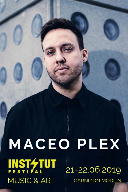MaceoPlex wystąpi 21 czerwca na Instytut Festival 2019 Music & Art