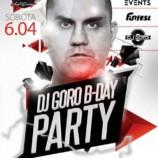 Funfest Kręgielnia & Bilard Zabrze –DJ GORO B-DAY PARTY