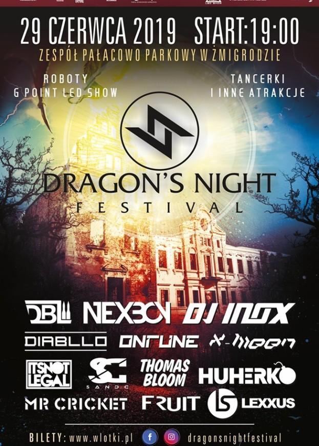 Wygraj bilet na Dragons Night Festival – Żmigród 2019
