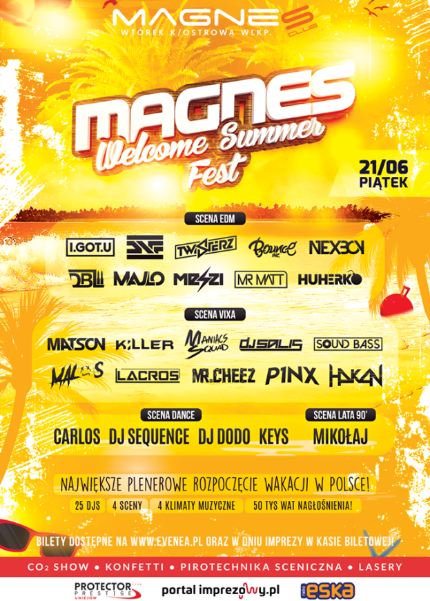 Magnes Welcome Summer FEST 19