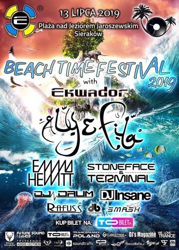 Wygraj bilet na Beach Time Festival with Ekwador 2019