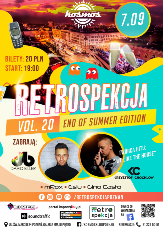 Klub Kosmos Poznań – Restrospekcja 20 End of Summer